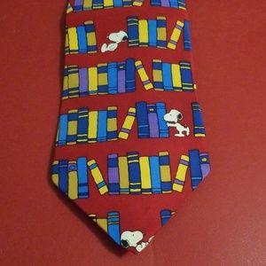 Tie Snoopy & Friends (100% silk)
